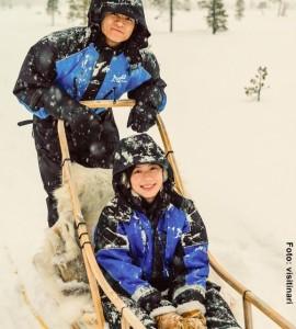 Huskysafari-Winterreise-Finnland