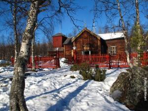 Kirche-Sami-Finnland