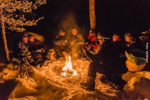 Lagerfeuer-Winterreise