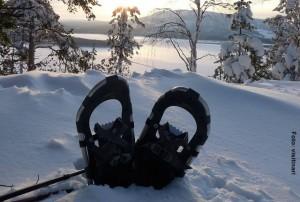 Schneeschuhwanderung-Finnland-Winterreise-Winter-und-Sami