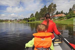 Sommer Familienurlaub Finnland Bootsfahrt