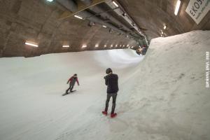 Finnland Skitunnel