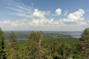 Finnland Vuokatti Hills