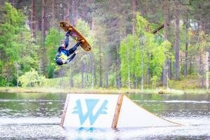 Finnland Vuokatti Wakepark