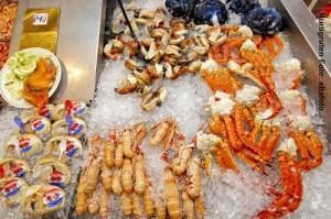 Norwegen_Bergen-Fischmarkt