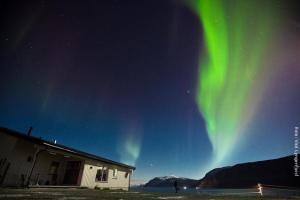 Arctic Panorama Lodge Nordlichter