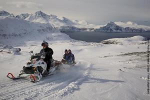 Norwegen Schlitten-Tour