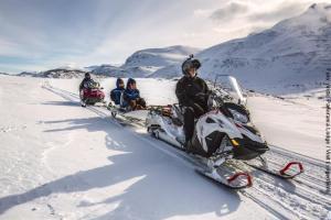 Norwegen Schneemobil-Tour