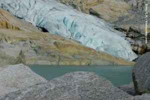 Norwegen_Briksdalsbreen-Gletscher