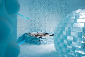 Eishotel Schweden, Art Suite 365 Melting Pot. Design Rob Harding and Timsam Harding