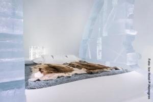 Eishotel-Schweden, Eiszimmer