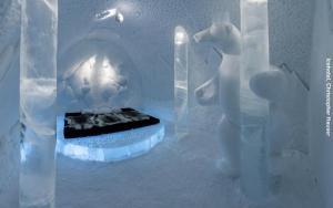 Eishotel Schweden Suite