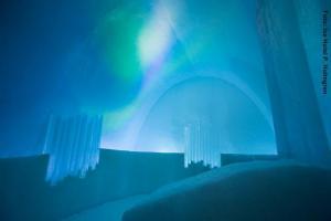 Eishotel-Schweden, Nordlicht Raum