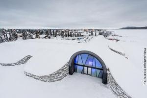 Eishotel-Schweden