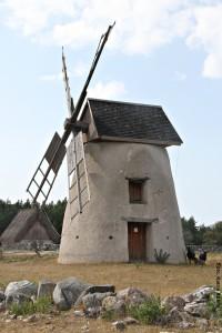 Schweden Gotland Windmuehle