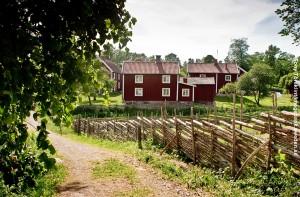 Schweden Rotes Holzhaus