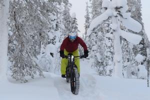 Lapland Huetten Fatbiking
