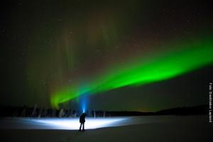 Lapland Huetten Nordlichtsafari