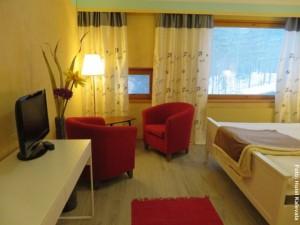 Finnland Winterreisen Hotel Kalevala