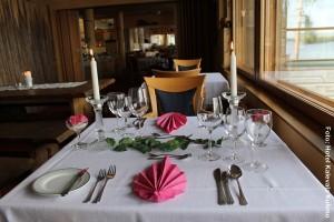 Finnland Winterreisen Restaurant