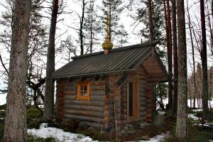 Finnland Winter Kirche
