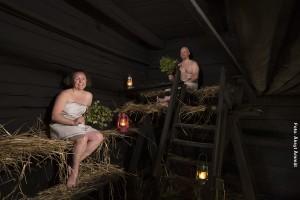 Rauchsauna Finnland