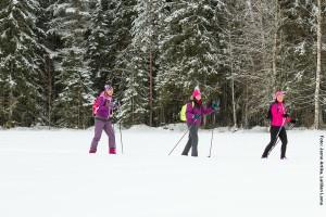 Skilanglauf Tour Finnland