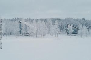 Artic Bath Spahotel Lappland - Landhütte & Landsuite