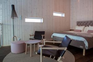 Artic Bath Spahotel Lappland - Landsuite Doppelbett