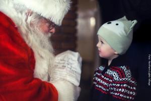 Nordlichterdorf Santa
