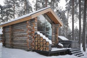 Wind Blockhütte