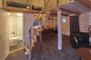 Holzfällerhütte von Innen
