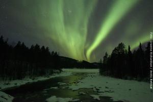 Nordlichter am Rane