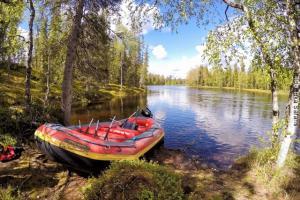 Sommer Abenteuerurlaub Finnland Bootstour