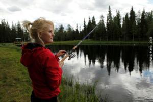 Finnland Fischen