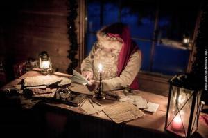 Weihnachten in Lappland - Weihnachtsmann