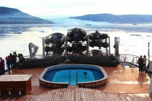 Groenland Kreuzfahrten Eqip Gletscher