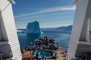 Groenland Seereisen Eisberge