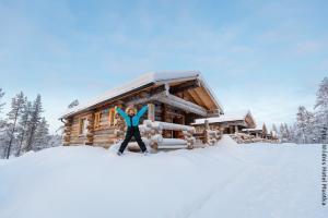 Hotel Muotka Lappland Lodge - Panorama Blockhütte