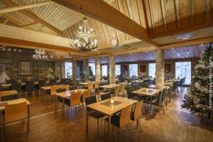 Restaurant im Muotka Wildnishotel