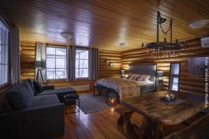 Hotel Muotka Lappland Lodge - Suite am Fluss