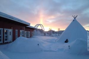 Schneemobil Safari Schweden - JVT
