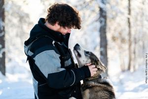 Besuch Huskies NLV