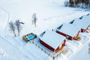 Winter Lappland Sauna