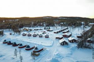 Winterreisen nach Inari