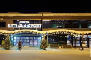 Lappland Kittila Flughafen