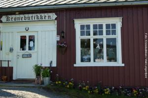 Kronebutikken am Lyngenfjord