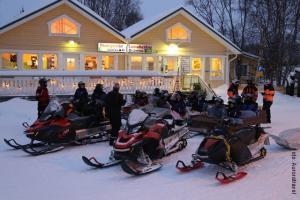 Lappland_Snowmobil
