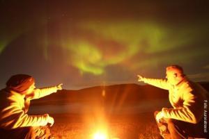 Lapplandreise_Nordlicht