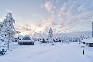 Nordlichter Huetten Dorf Levi